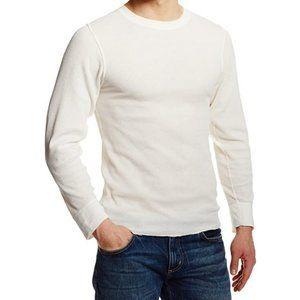 Hanes Men's White Long Sleeve Thermal
